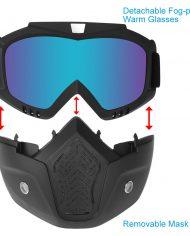 Electric-skateboard-face-mask-helmet-detachableù