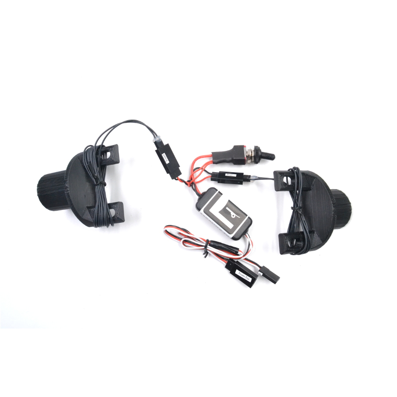 6W Waterproof Led light kit with REAR BRAKES CONTROL